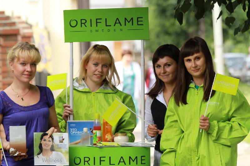 oriflame marketing mix