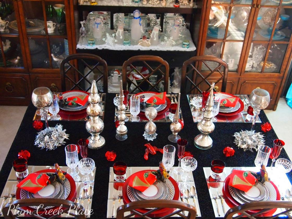 Plum Creek Place - New Years Eve Tablescape