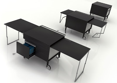 Creative Desks and Cool Desk Designs (20) 7