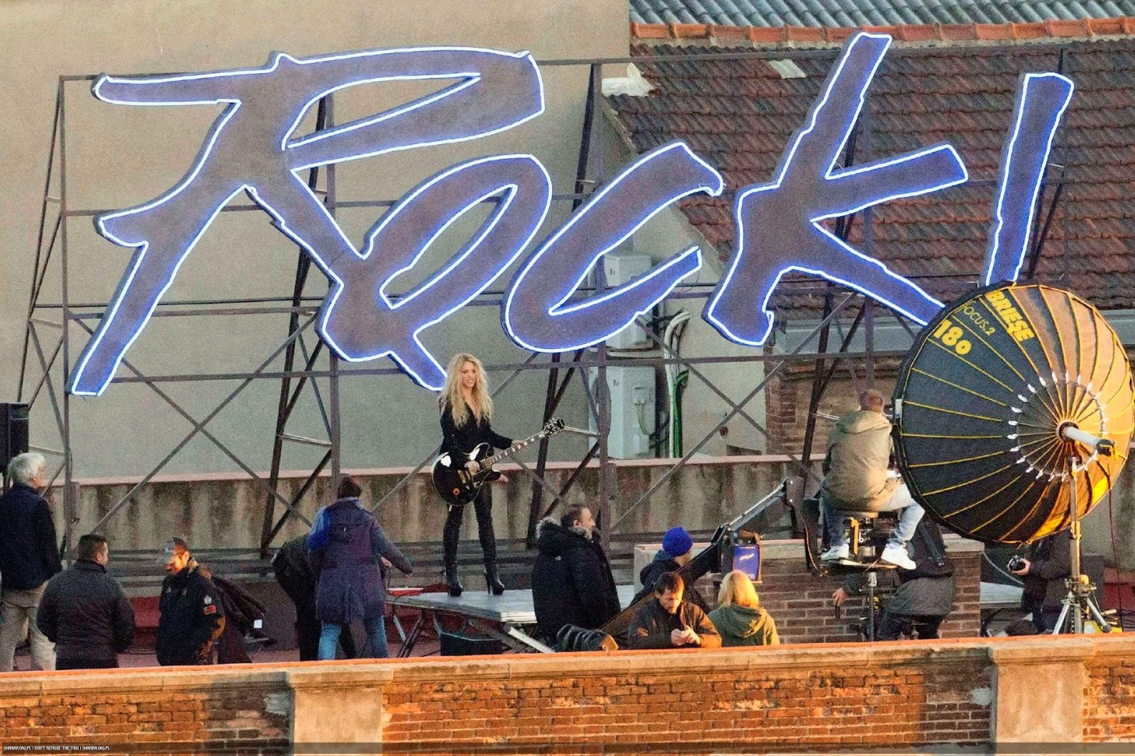rock riprese