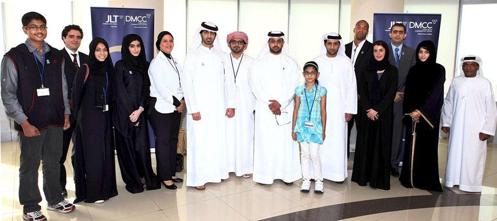 Expo 2020 Dubai, UAE: DMCC welcomes UAE Expo 2020 Ambassadors to Almas