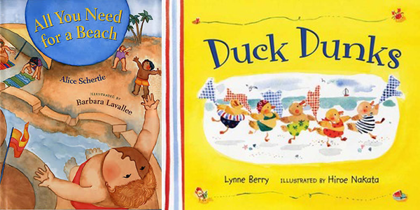 picture books for beach storytime