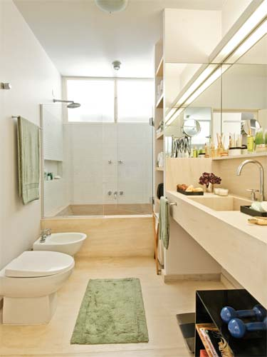 Casa do Guirierume e do Afrody -> Banheiro Feminino Luxo