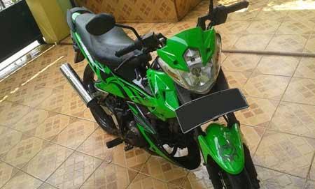 Gambar Kawasaki Athlete Terbaru