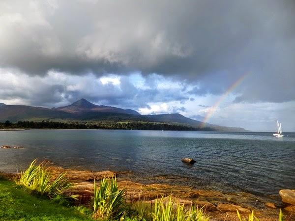 écosse scotland île isle arran