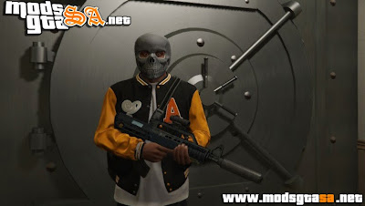 V - Mod Banco Robbery (Assaltar Bancos) para GTA V PC