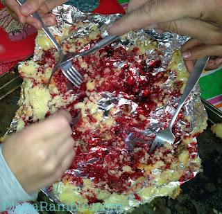 Campfire Dump Cake