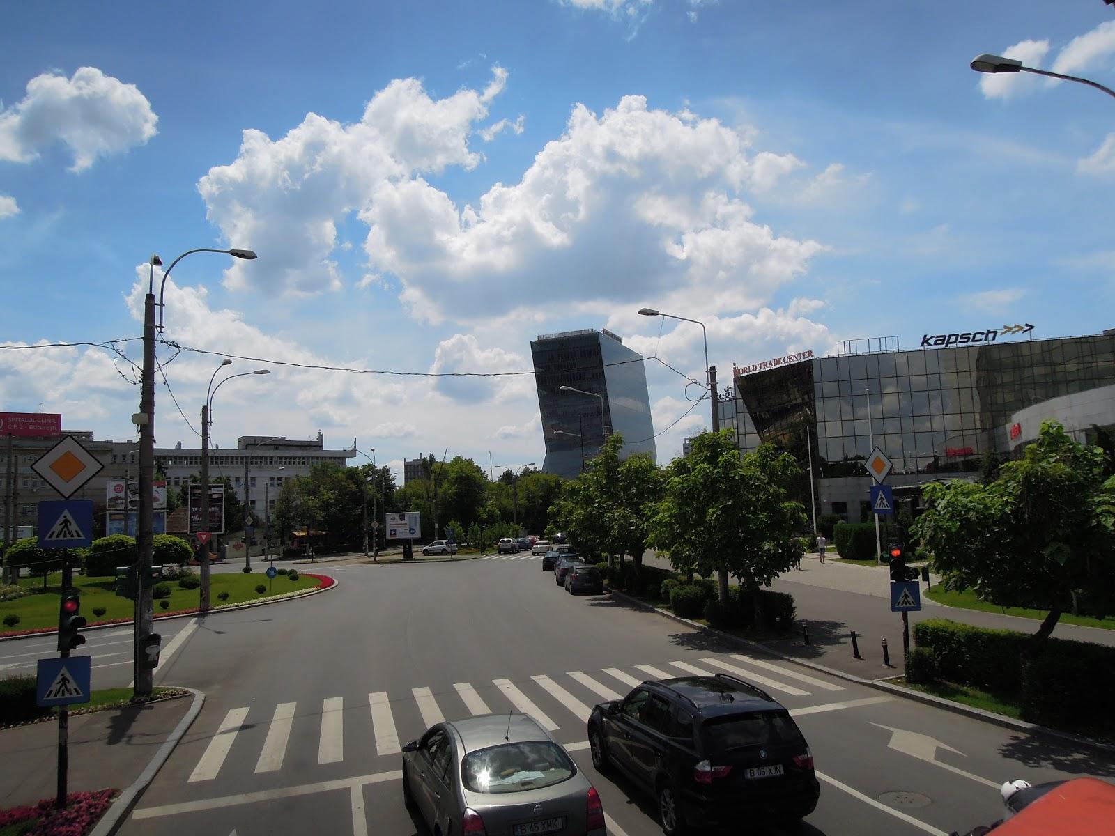 Rondul de la World Trade Center (unde tramvaiul 41 face strânga)