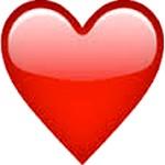 Image result for coração emoji