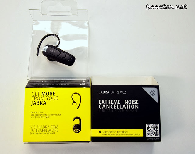 Jabra Extreme 2 Bluetooth Headset