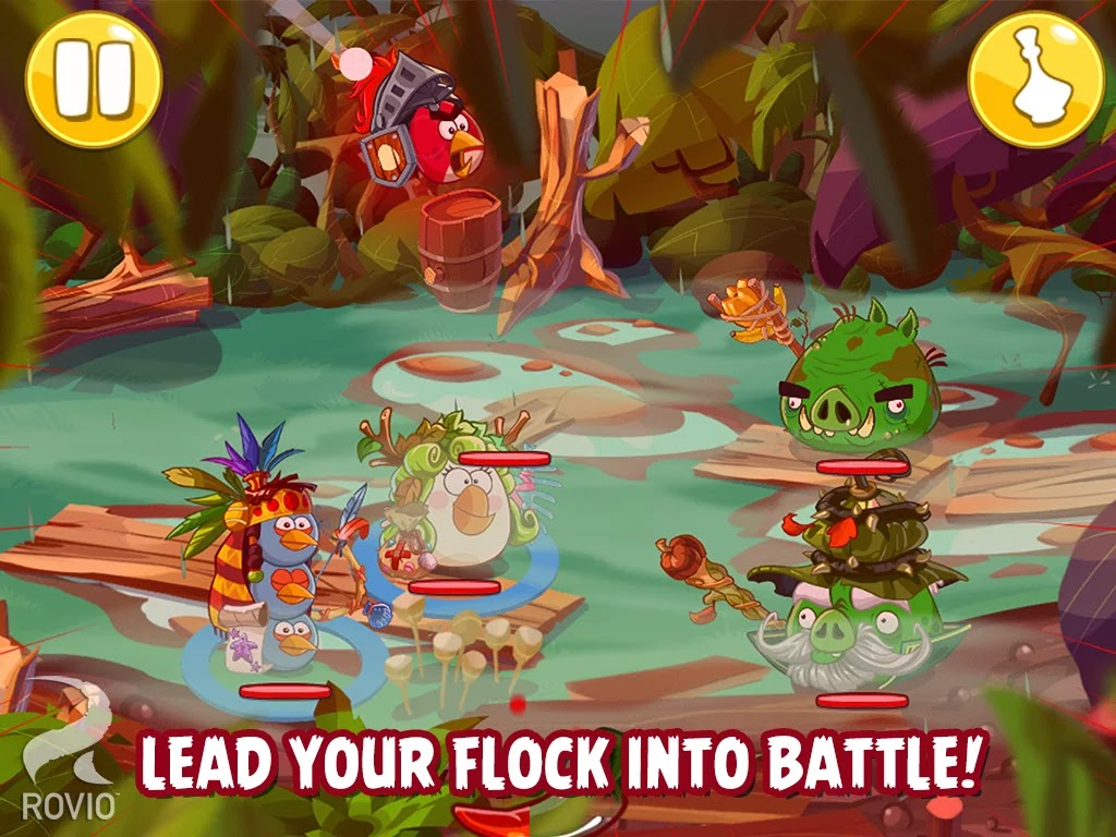 Angry Birds Epic v1.1.3 Mod [Unlimited Money]