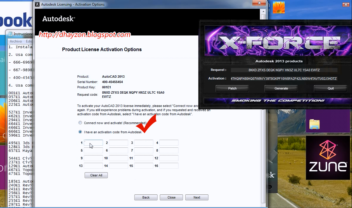 Autocad 2008 64 Bit keygen Xforce - картинка 2