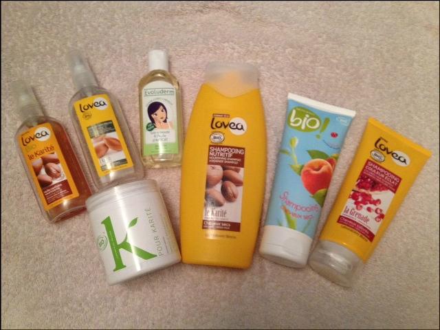 a mon retour sur paris jai achet 3 shampoings lovea bio pour cheveux secs cheveux brillant et cheveux colors javais lu quavec les produits bio les - Shampoing Bio Cheveux Colors