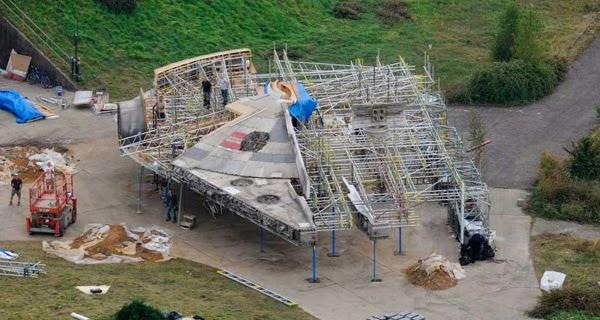 Star Wars Ep. VII: El Halcón Milenario y los X-Wing en las mejores fotografías del rodaje hasta la fecha
