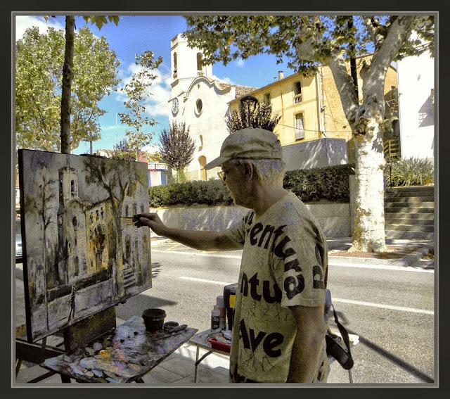 VALLGORGUINA-PINTURA-FOTOS-CARRETERA-AJUNTAMENT-PINTOR-ERNEST DESCALS-