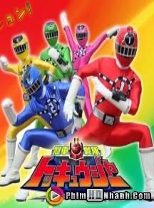 Siêu Nhân Đường Sắt - Ressha Sentai Toqger
