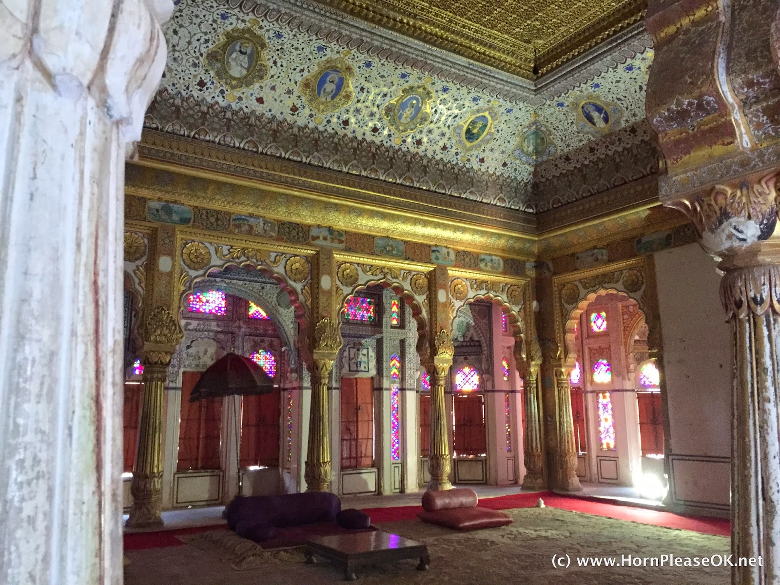 Phool Mahal inside Mehrangarh Fort