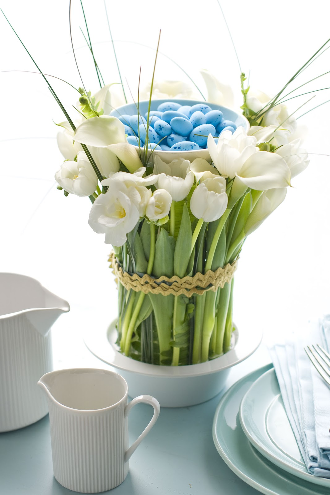 Easy easter centerpiece brooklyn limestone