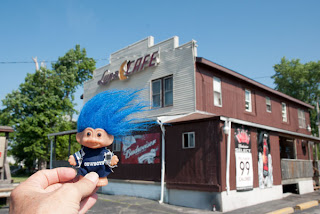Route 66 Troll at Luna Cafe