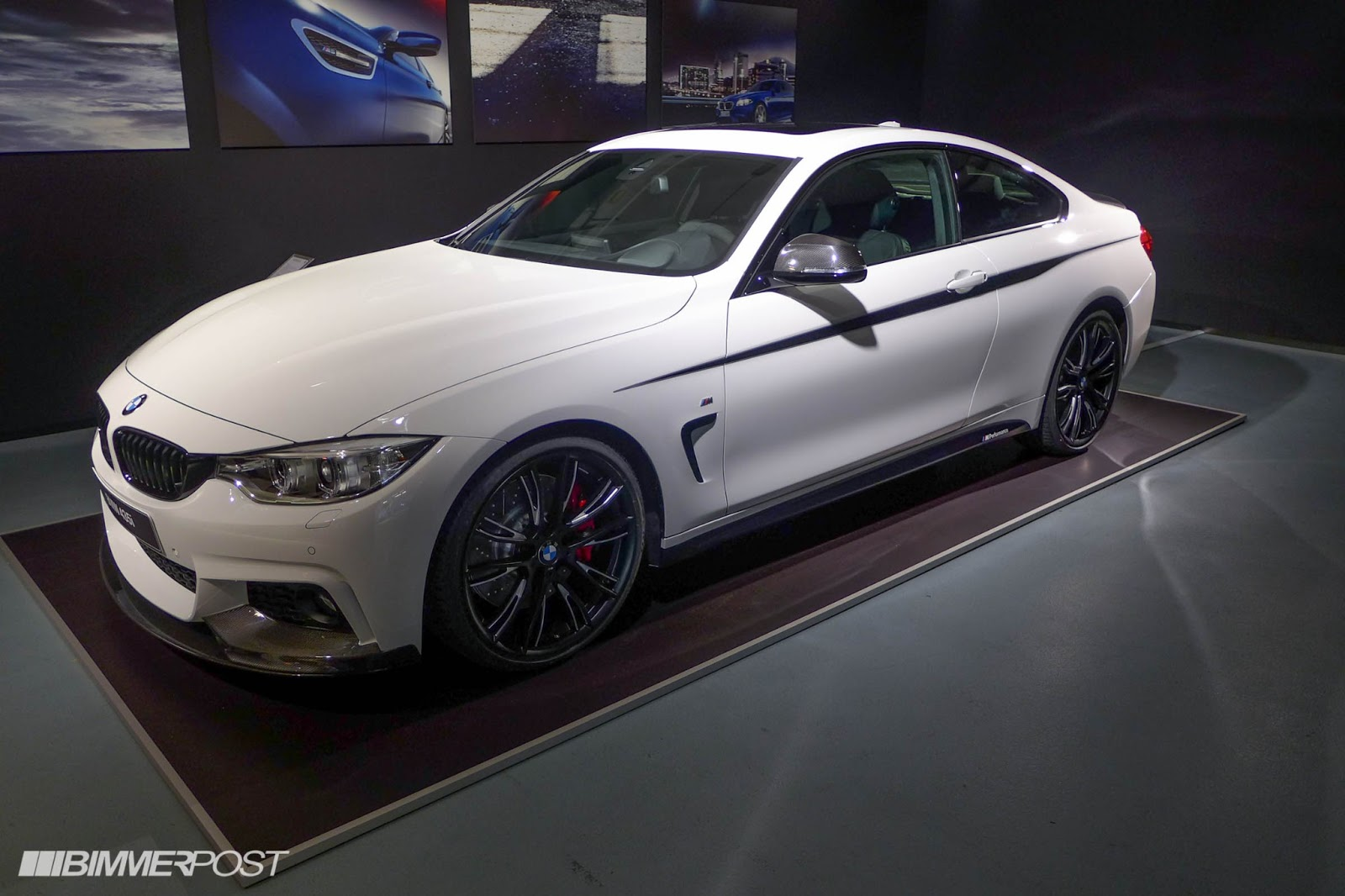 bmw 4 series with m performance package revealed so hot. Black Bedroom Furniture Sets. Home Design Ideas