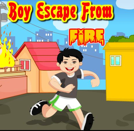 Play PinkyGirlgames Boy Escape From Fire