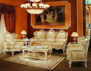 sofa klasik jepara jual mebel jepara Mebel furniture klasik jepara jual set sofa tamu ukir sofa tamu jati sofa tamu antik sofa jepara sofa tamu duco jepara furniture jati klasik jepara SFTM-33050,sofa klasik Roses classic