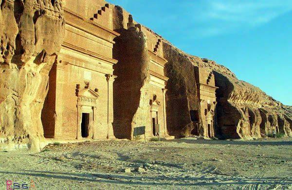 Senibina kaum Tsamud 3,000 tahun yang lalu