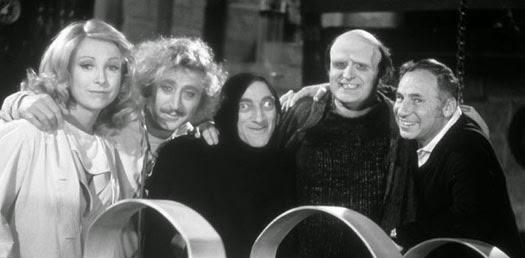 """Reparto de """"El jovencito Frankenstein"""""""