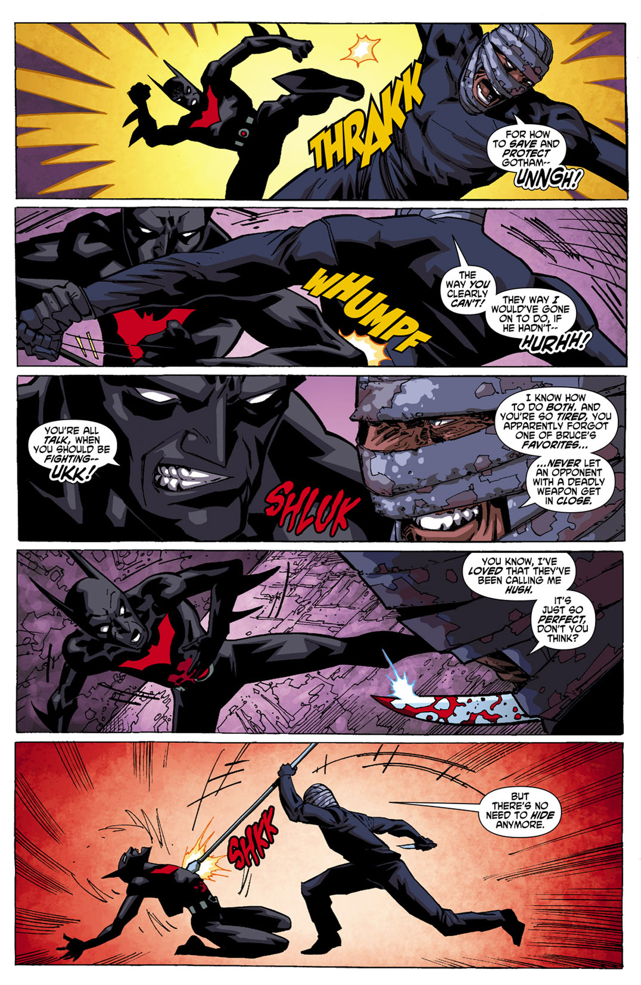 Batman Beyond (2010) Issue #4 #4 - English 20
