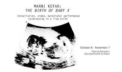 Gravidez & Arte = Parto do Bebê X