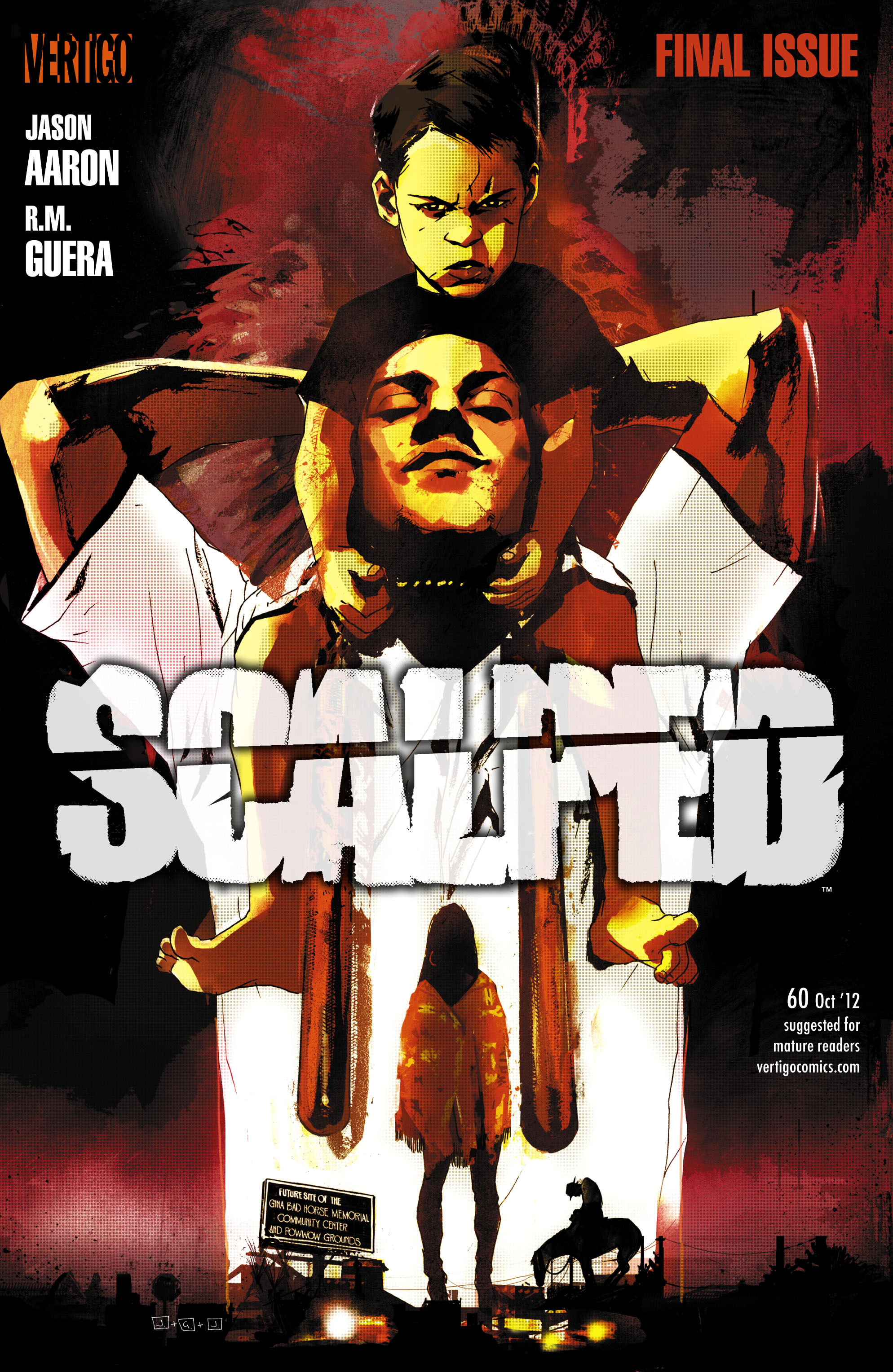 Scalped 60 Page 1