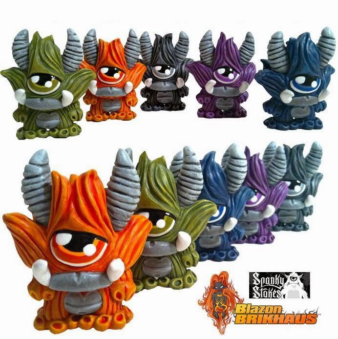 Blazon Brikhaus x Spanky Stokes Rainbow Stroll Custom Dunny Series