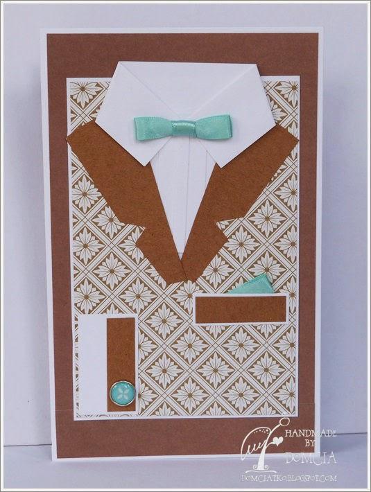 kartka koszula dla męża, kartka dla faceta, kartka dla chłopaka, kartka z muchą, card for man, card shirt