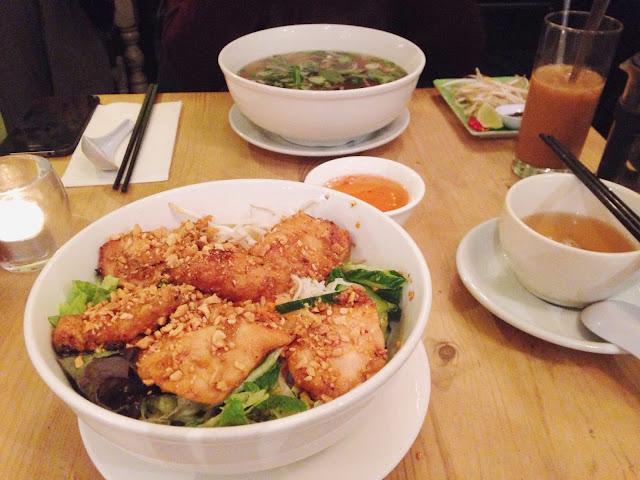 Banh Mi Bay Holborn noodle salad