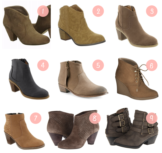 Putting Me Together: Fall Shopping: Ankle Boots