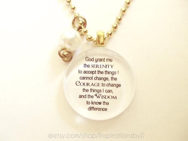Pendant Glass Necklace