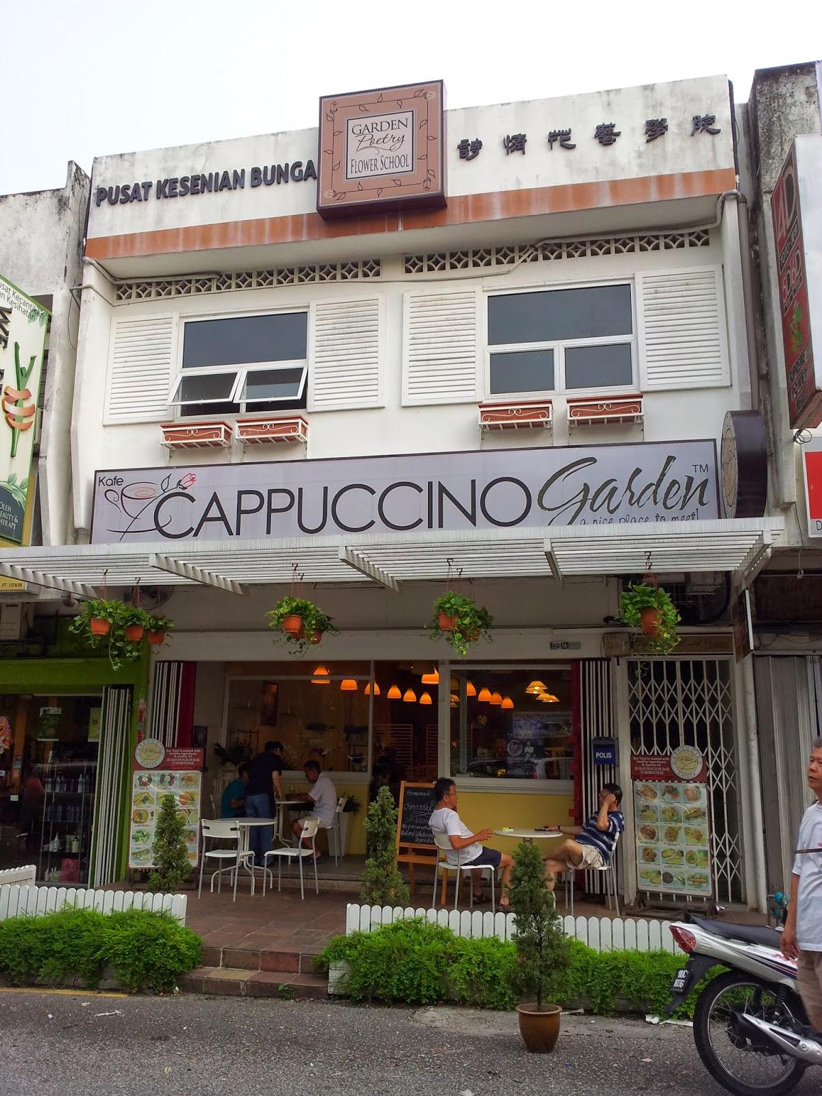 food archeologists cappuccino garden cafe happy garden oug