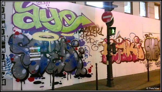 Graffiti Paris rue du Temple