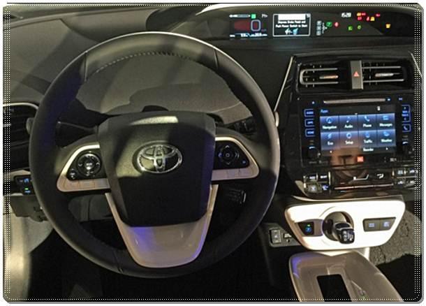 2017 Toyota Prius Warning Lights