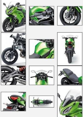 Spesifikasi NINJA 650cc 4tak Terbaru 2012