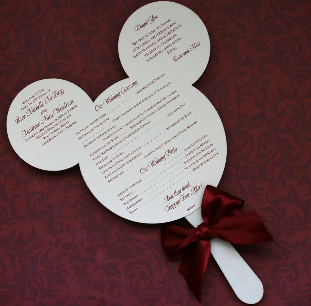 Paper Perfection Wedding Program Fan