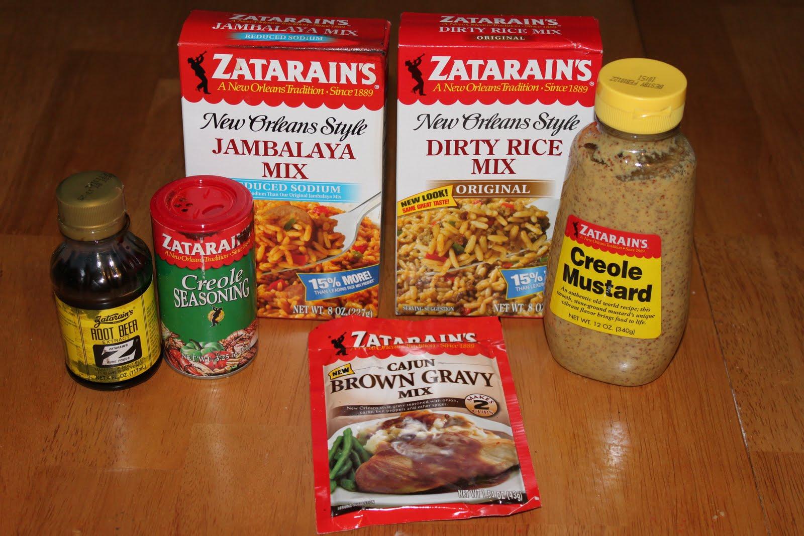 ... Jambalaya Mix Zatarain's Dirty Rice Mix Zatarain's Cajun brown gravy
