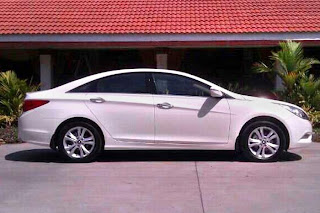 new hyundai sonata side view