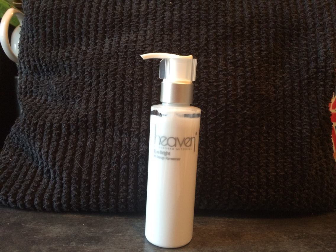 Eye Bright Make-up Remover from Heaven by Deborah Mitchell