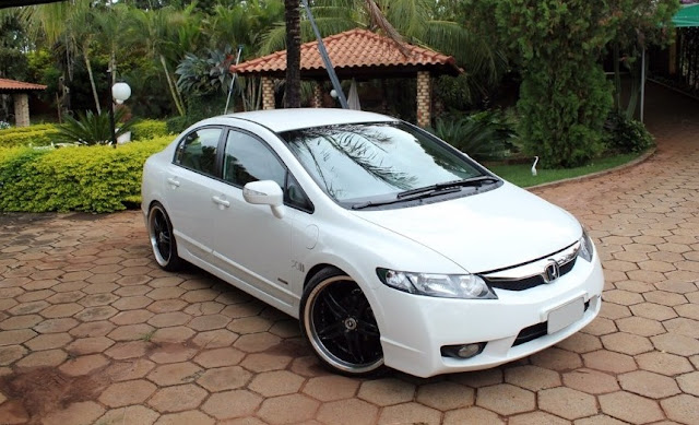 New Civic rebaixado