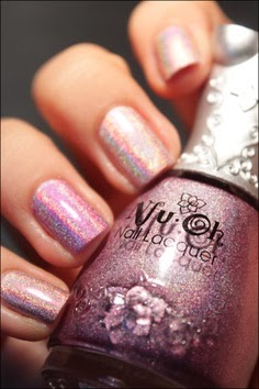 Fashion week Wear you Would Holographic nail polish? for lady