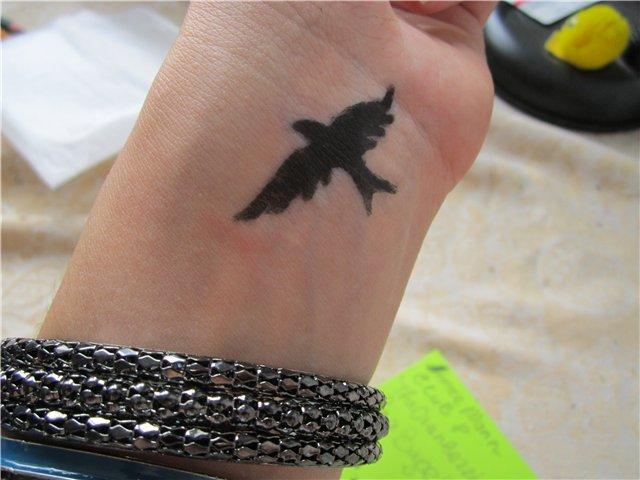 Татуировки хной (фото) Хна для тату купить хну для  - тату хной фото на запястье