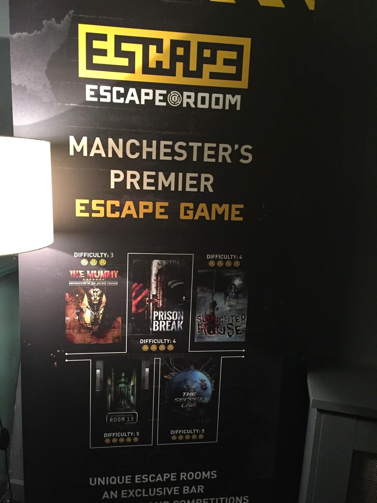 The Secret Lab Escape Room Manchester