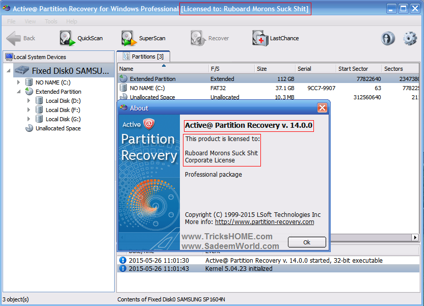 active@ partition recovery 18 key
