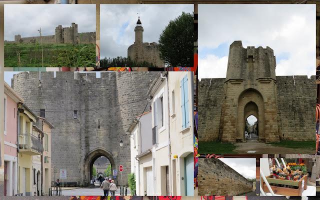 Walled fortress at Aigues Mortes, France